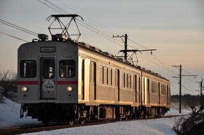2012年3月29日 十和田観光電鉄 北里大学前~高清水 7200系7305+7204