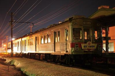 2012年3月29日 十和田観光電鉄 十和田市 夜間停泊