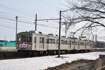 2012年3月30日 十和田観光電鉄 高清水~北里大学前 7700系7901-7701