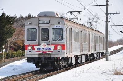 2012年3月30日 十和田観光電鉄 七百~古里 7204+7305