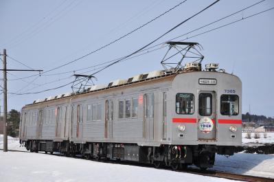 2012年3月30日 十和田観光電鉄 七百~柳沢 7200系7305+7204