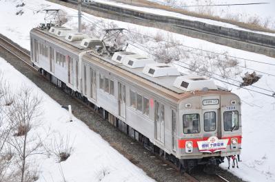 2012年3月30日 十和田観光電鉄 高清水~北里大学前 7204+7305