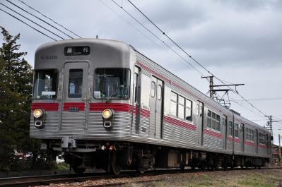 2012年3月31日 長野電鉄屋代線 東屋代~屋代 3500系O1編成