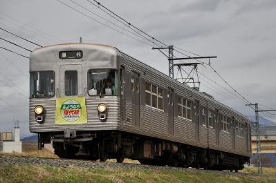 2012年3月31日 長野電鉄屋代線 岩野~雨宮 3500系O6編成