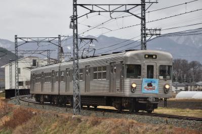 2012年3月31日 長野電鉄屋代線 雨宮~岩野 3500系O6編成