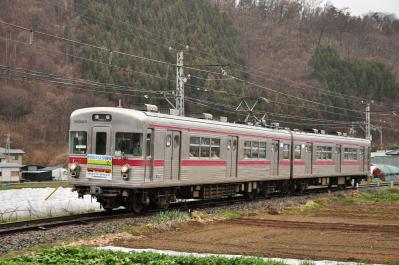 2012年3月31日 長野電鉄屋代線 松代~金井山 3500系O2編成