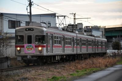 2012年3月31日 長野電鉄屋代線 雨宮~東屋代 3600系L2編成