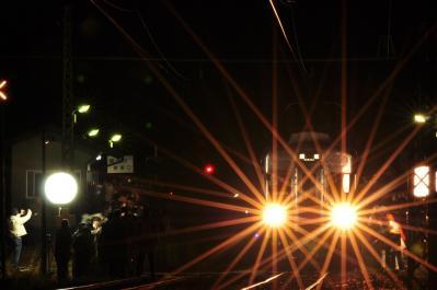 2012年3月31日 長野電鉄屋代線 綿内 3500系N7編成+N8編成 屋代線一般営業最終列車