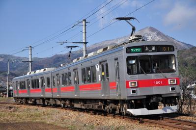 2012年4月1日 上田電鉄別所線 別所温泉~八木沢 1000系1001F