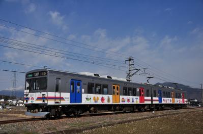 2012年4月1日 上田電鉄別所線 大学前~下之郷 1000系1002F