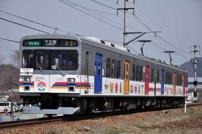 2012年4月1日 上田電鉄別所線 1000系1002F 寺下~神畑