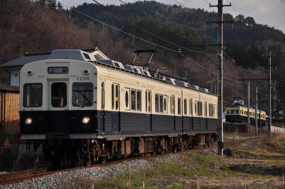 2012年4月19日 上田電鉄別所線 別所温泉~八木沢 7200系7255F
