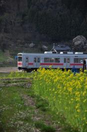 2012年4月19日 上田電鉄別所線 別所温泉~八木沢 1000系1004F