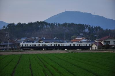 2012年4月19日 上田電鉄別所線 舞田~八木沢 7200系7255F