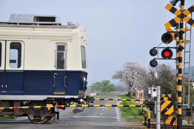 2012年4月25日 上田電鉄別所線 上田~城下 7200系7255F