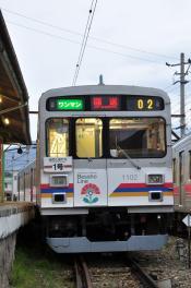 2012年4月26日 上田電鉄別所線 下之郷 1000系1002F