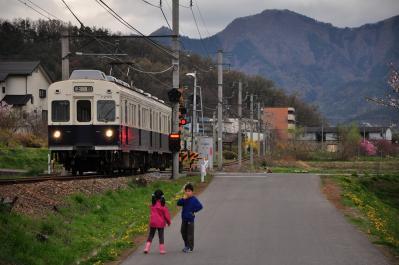 2012年4月26日 上田電鉄別所線 神畑~寺下 7200系7255F