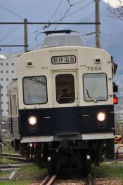 2012年4月26日 上田電鉄別所線 上田~城下 7200系7255F