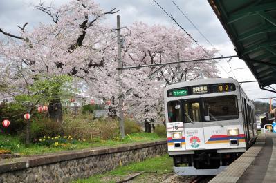 2012年4月26日 上田電鉄別所線 別所温泉 1000系1002F