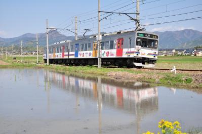 2012年5月5日 上田電鉄別所線 中塩田~下之郷 1000系1002F