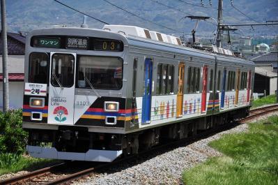 2012年5月5日 上田電鉄別所線 三好町~赤坂上 1000系1003F