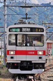 2012年5月5日 上田電鉄別所線 下之郷入換 1000系1004F