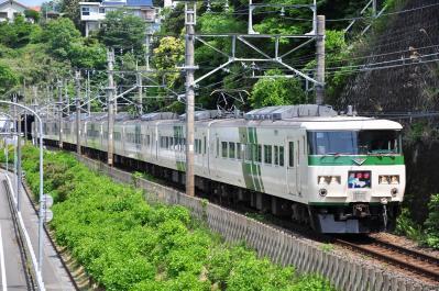 2012年5月12日 JR東日本伊東線 網代~伊豆多賀 185系A8編成