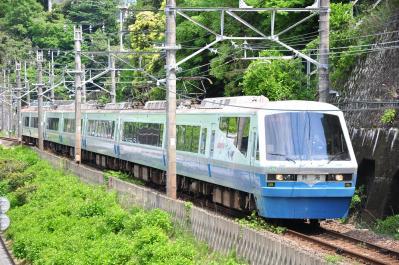 2012年5月12日 JR東日本伊東線 網代~伊豆多賀 伊豆急2100系R3編成