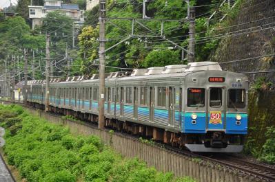 2012年5月12日 JR東日本伊東線 網代~伊豆多賀 伊豆急8000系TA8編成+**