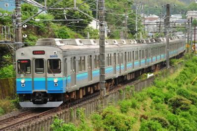 2012年5月12日 JR東日本伊東線 伊豆多賀~網代 伊豆急8000系TB5+**