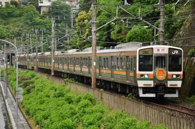 2012年5月12日 JR東日本伊東線 網代~伊豆多賀 211系N1編成