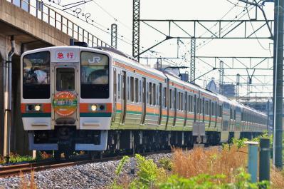 2012年5月13日 JR東日本東海道本線 平塚~大磯 211系N1編成