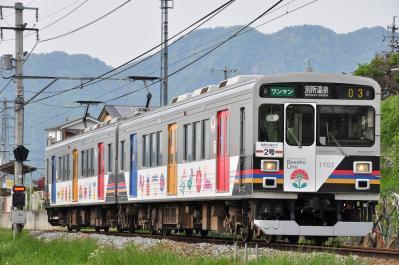 2012年5月24日 上田電鉄別所線 寺下~神畑 1000系1003F