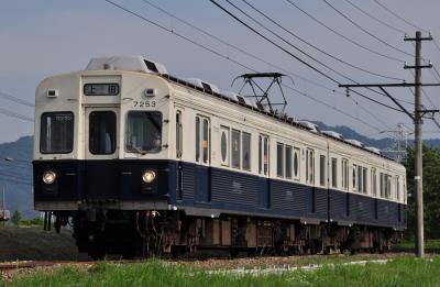 2012年5月24日 上田電鉄別所線 下之郷~大学前 7200系7253F