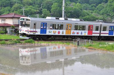 2012年5月24日 上田電鉄別所線 八木沢~別所温泉 1000系1002F