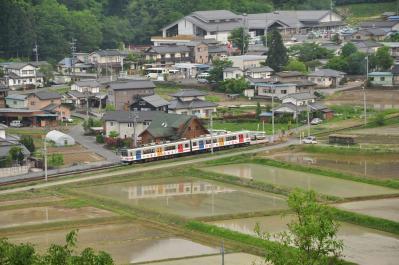2012年5月24日 上田電鉄別所線 別所温泉~八木沢 1000系1002F