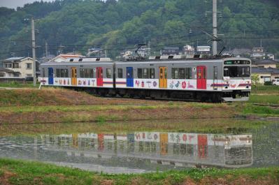 2012年5月25日 上田電鉄別所線 八木沢~舞田 1000系1002F