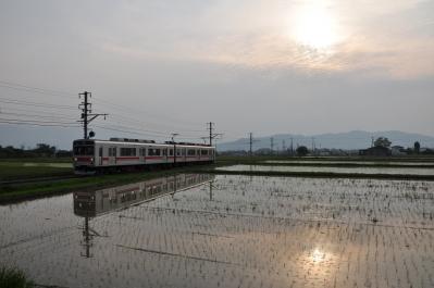 2012年5月25日 上田電鉄別所線 舞田~八木沢 1000系1001F