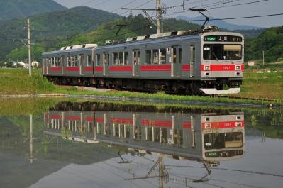 2012年5月25日 上田電鉄別所線 別所温泉~八木沢 1000系1001F
