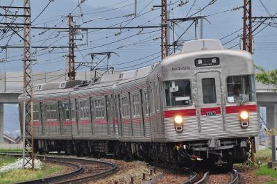 2012年5月25日 長野電鉄長野線 信濃吉田~朝陽 3500系N7+N6