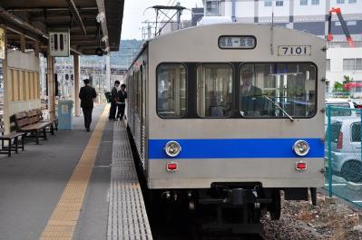 2012年6月14日 福島交通飯坂線 福島 7000系 7101-7102