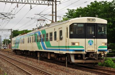 2012年6月14日 JR東日本東北本線 東福島~福島 阿武隈急行8100系A-5編成