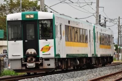2012年6月14日 JR東日本仙石線 矢本 キハ110-242+キハ110-240(震災により気動車で運転)