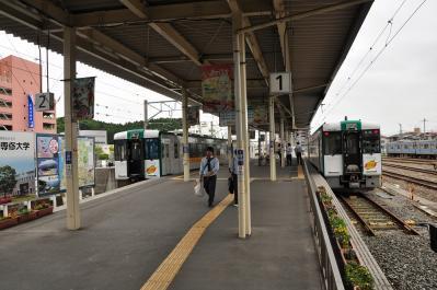 2012年6月14日 JR東日本仙石線 石巻駅 仙石線ホーム(震災により気動車で運転)