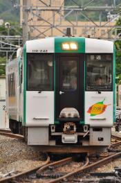 2012年6月14日 JR東日本仙石線 石巻~陸前山下 キハ110-242+キハ110-240(震災により気動車で運転)