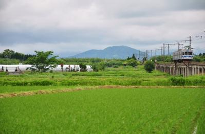 2012年6月24日 弘南鉄道弘南線 津軽尾上~尾上高校前 7000系7102-7152