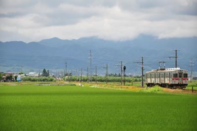 2012年6月24日 弘南鉄道弘南線 柏農高校前~平賀 7000系7022-7012