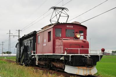 2012年6月24日 弘南鉄道弘南線 平賀~館田 ED333+キ104