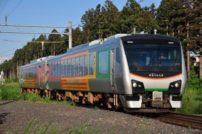 2012年6月24日 JR東日本奥羽本線 青森~新青森 HB-E300 AH1編成 リゾートあすなろ
