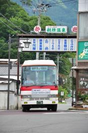 2012年7月15日 上田バス 別所温泉駅 H-892号車